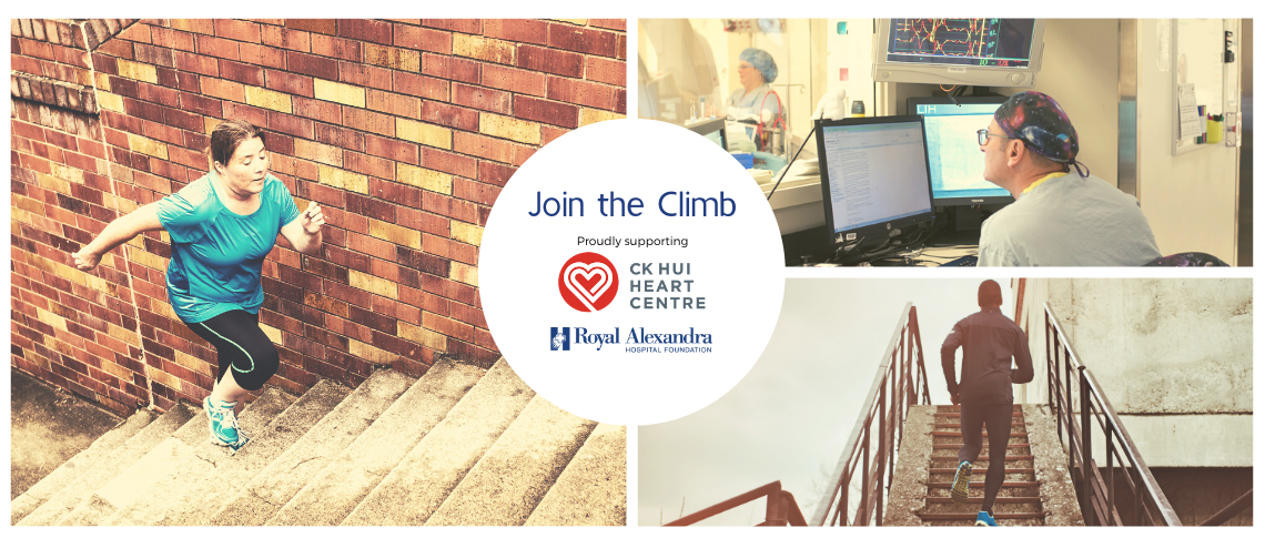 Join the Climb for Heart Month